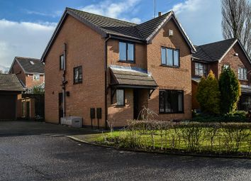 Thumbnail 4 bed detached house for sale in Swallow Court, Clayton-Le-Woods, Chorley