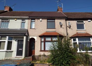 3 bed terraced house for sale in Rollason Road, Radford, Coventry, West Midlands CV6