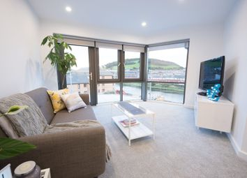 Thumbnail 2 bed flat for sale in Riverside Terrace, Aberystwyth