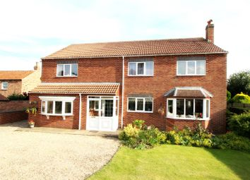 Thumbnail 5 bed detached house for sale in Main Street, Skerne, Driffield
