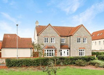 Thumbnail 4 bed detached house for sale in Hartlake Close, Glastonbury