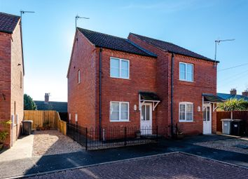 Thumbnail 2 bed semi-detached house for sale in Old School Mews, Spilsby