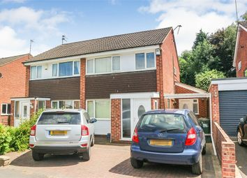 Thumbnail 3 bed semi-detached house for sale in Wheatley Drive, Carlton, Nottingham