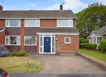 Thumbnail 3 bed semi-detached house for sale in Holly Walk, Baginton, Warwickshire