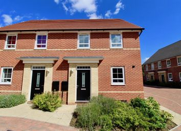 Thumbnail 2 bedroom semi-detached house to rent in Alder Close, Hempsted, Peterborough