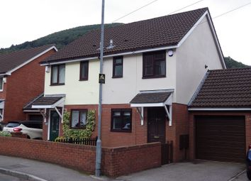 Thumbnail 2 bed semi-detached house to rent in Park Street, Cwmcarn, Newport.