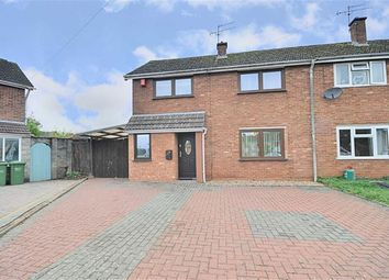 Thumbnail 3 bed semi-detached house for sale in Keswick Drive, Warndon, Worcester