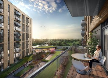 Thumbnail 1 bed flat for sale in Bankside Gardens, Longwater Avenue, Green Park, Reading, Berkshire