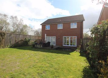 Thumbnail 4 bed detached house for sale in Eden Court, Gwersyllt, Wrexham