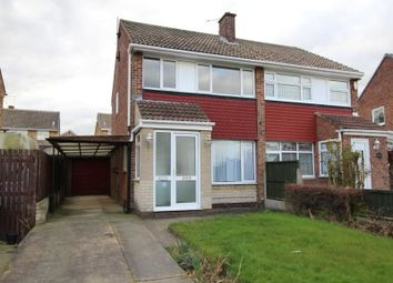 Thumbnail 3 bed semi-detached house to rent in Park Avenue, North Anston, Sheffield