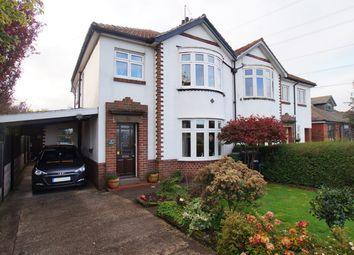 Thumbnail 3 bed semi-detached house for sale in Park Road, Scotby, Carlisle