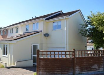 Thumbnail 3 bedroom semi-detached house to rent in Rosewell Close, Honiton, Devon