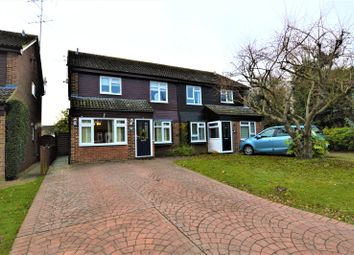 Thumbnail 4 bed semi-detached house for sale in Wentworth Drive, Bishop's Stortford