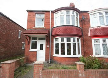 Thumbnail 3 bed semi-detached house to rent in Rochester Road, Middlesbrough
