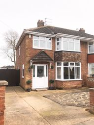 Thumbnail 3 bed semi-detached house for sale in Brookfield Road, Scartho, Grimsby