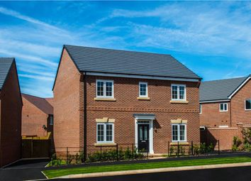 "Thumbnail 4 bed detached house for sale in ""Longford"" at Starflower Way, Mickleover, Derby"