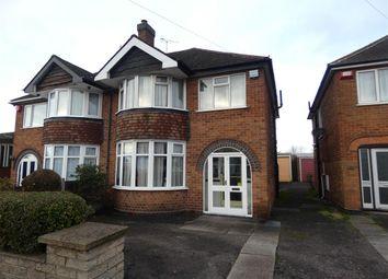 Thumbnail 3 bed semi-detached house for sale in Church Road, Sheldon, Birmingham