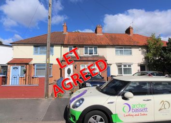 4 bed terraced house to rent in Bromwall Road, Birmingham B13