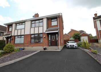 Thumbnail 3 bed semi-detached house for sale in Hermitage, Culcavy, Hillsborough