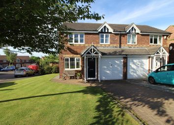 Thumbnail 3 bed semi-detached house for sale in Castlehills, Castleside, Consett