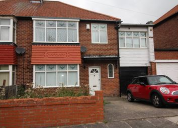 Thumbnail 4 bed terraced house to rent in Friarside Road, Fenham, Newcastle Upon Tyne