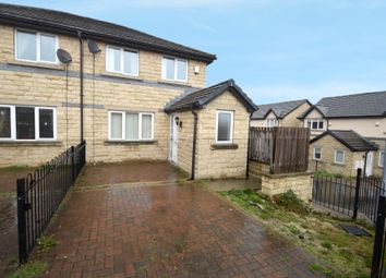 Thumbnail 3 bed semi-detached house for sale in Cedar Close, Bierley, Bradford