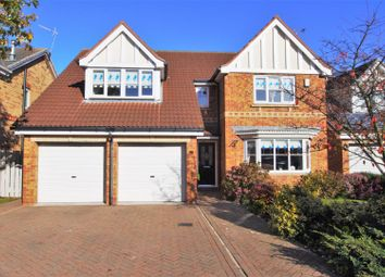 Thumbnail 4 bed detached house for sale in Shooters Hill Drive, Rossington, Doncaster