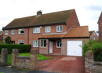 Thumbnail 3 bed semi-detached house for sale in North Road, Ponteland, Newcastle Upon Tyne
