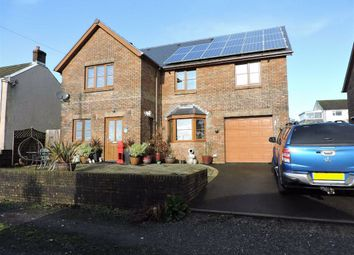 Thumbnail 4 bed detached house for sale in Station Road, Coelbren, Neath