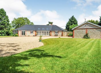 Thumbnail 4 bed detached bungalow for sale in The Common, South Creake, Fakenham