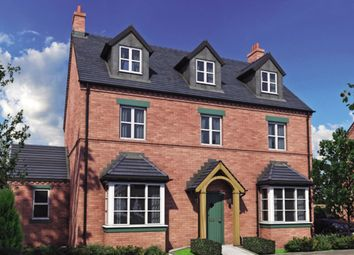 Thumbnail 5 bed detached house for sale in The Courtyard, Tutbury, Burton-On-Trent