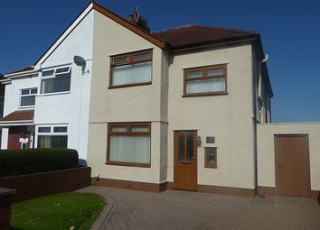 Thumbnail 3 bed semi-detached house for sale in Chestnut Road, Cimla, Neath .