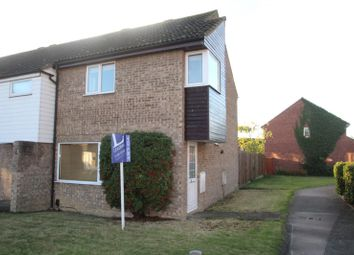 Thumbnail 3 bed terraced house to rent in Cam Close, St. Ives, Huntingdon
