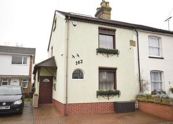 Thumbnail 3 bed end terrace house for sale in 162 London Road, Dunton Green, Sevenoaks, Kent