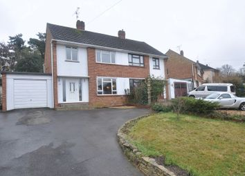 Thumbnail 3 bed semi-detached house for sale in Ferndale Road, Church Crookham, Fleet