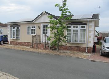Thumbnail 2 bed mobile/park home for sale in Croft Park, Newton Hall Lane, Knutsford, Cheshire
