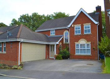 Thumbnail 4 bed detached house for sale in Hambleton Close, Ashbourne