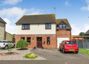 Thumbnail 3 bed detached house for sale in The Paddocks, Folksworth, Peterborough, Cambridgeshire