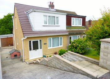 Thumbnail 3 bed semi-detached bungalow for sale in Stepney Road, Cockett, Swansea