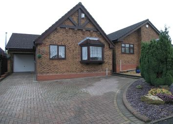 Thumbnail 2 bed detached bungalow for sale in Mission Close, Cradley Heath