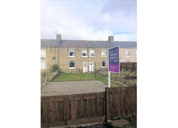 Thumbnail 2 bed terraced house for sale in Eighth Row, Ashington