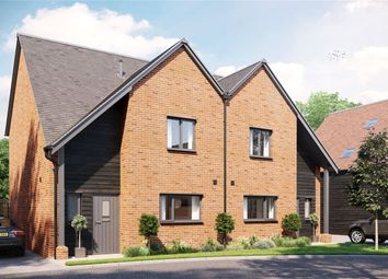 Thumbnail 3 bed semi-detached house for sale in Station Drive, Sutton Scotney, Winchester, Hampshire