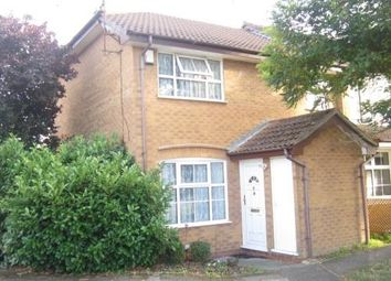 Thumbnail 1 bed end terrace house to rent in Harvard Close, Woodley, Reading
