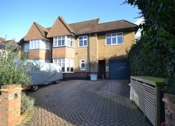 Thumbnail 5 bed semi-detached house for sale in Merland Rise, Epsom