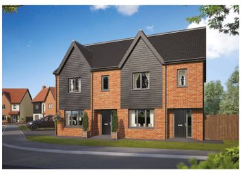 Thumbnail 3 bed end terrace house for sale in Plot 61 Wendover Park, Salhouse Road, Norwich