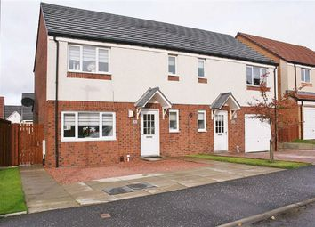 Thumbnail 3 bed semi-detached house for sale in Sisman Place, Larbert, Stirlingshire