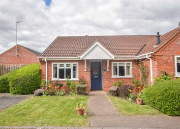 Thumbnail 2 bed semi-detached bungalow for sale in Sutton Close, Quorn, Loughborough
