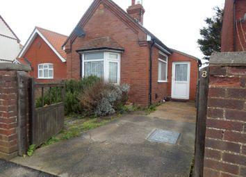 Thumbnail 1 bed bungalow to rent in Quintons Lane, Old Felixstowe, Felixstowe