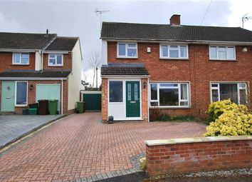 Thumbnail 3 bed semi-detached house for sale in Castlefields Road, Charlton Kings, Cheltenham