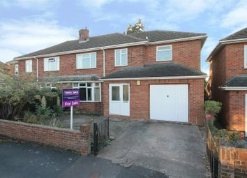 Thumbnail 4 bed semi-detached house for sale in Brockington Drive, Hereford